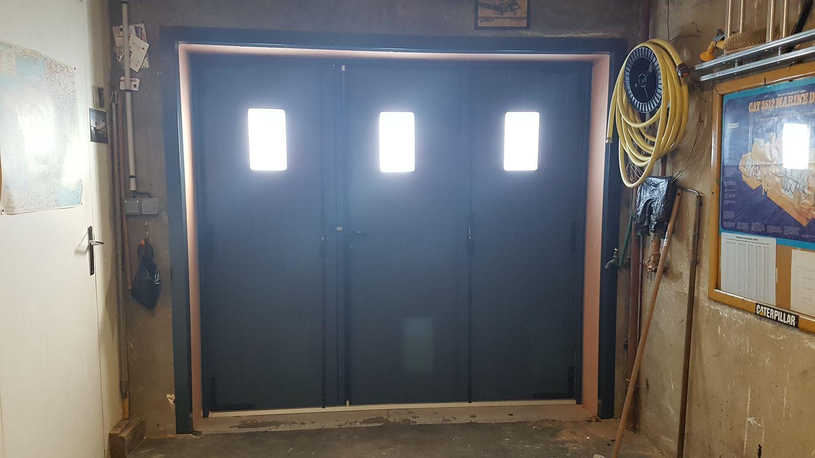 porte garage alu à vanttaux 2